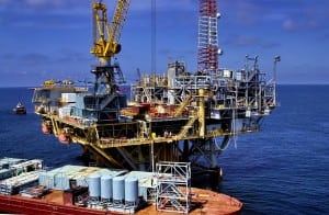 Oil & Gas Photography, Rig out in the Gulf
