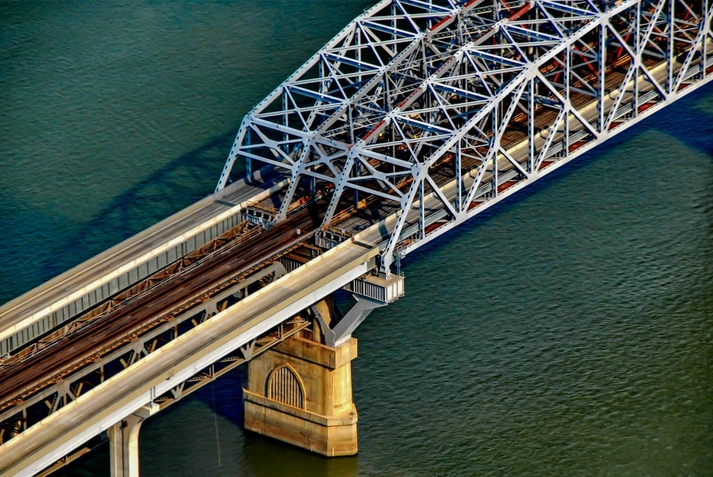 Aerial Photography, Bridge Railway